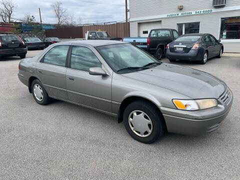 1999 Toyota Camry for sale at Fairview Motors in West Allis WI