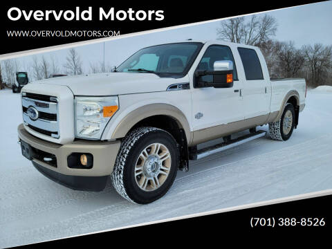 2011 Ford F-250 Super Duty for sale at Overvold Motors in Detriot Lakes MN