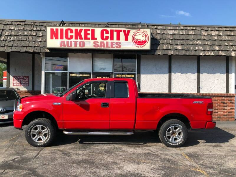 2008 Ford F-150 for sale at NICKEL CITY AUTO SALES in Lockport NY