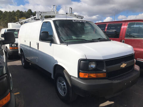 2014 Chevrolet Express Cargo for sale at CARGO VAN GO.COM in Shakopee MN