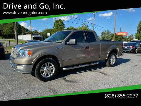 2004 Ford F-150 for sale at Drive and Go, Inc. in Hickory NC