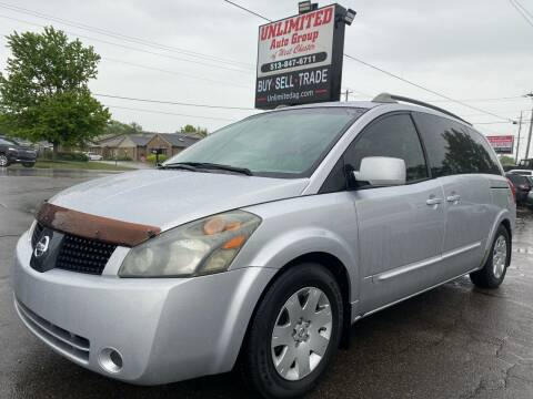 2005 Nissan Quest for sale at Unlimited Auto Group in West Chester OH