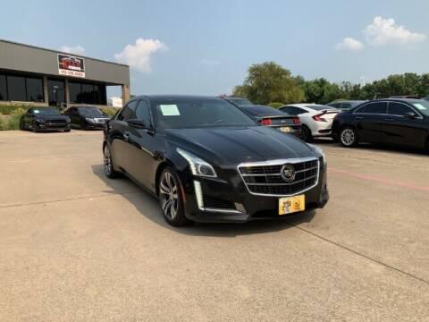 2014 Cadillac CTS for sale at KIAN MOTORS INC in Plano TX