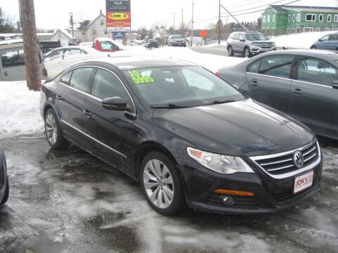 2010 Volkswagen CC for sale at Joks Auto Sales & SVC INC in Hudson NH