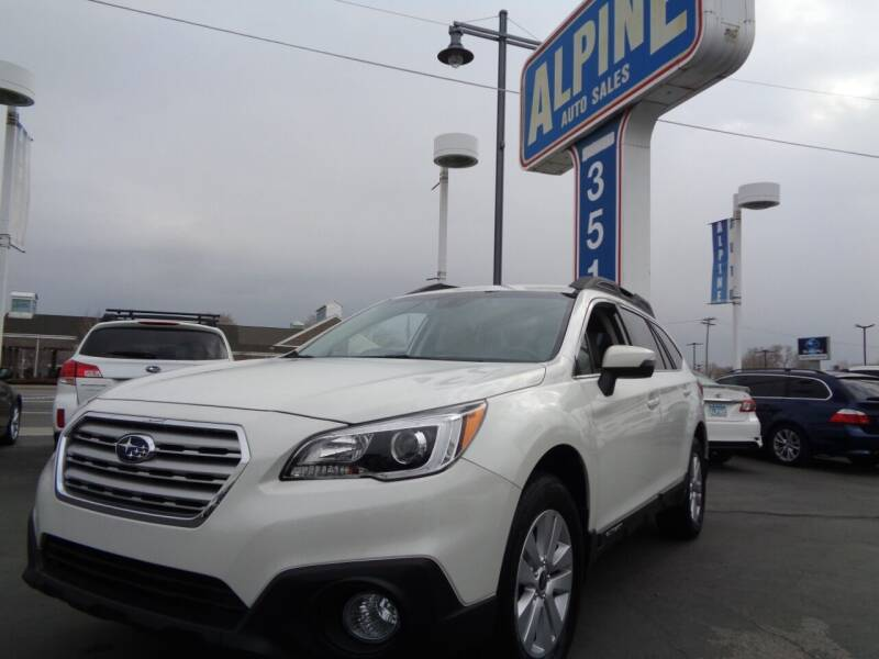2017 Subaru Outback for sale at Alpine Auto Sales in Salt Lake City UT