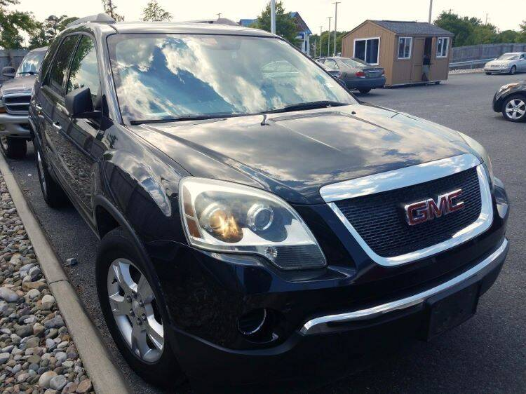 2010 GMC Acadia for sale at Lakeview Motors in Clarksville VA
