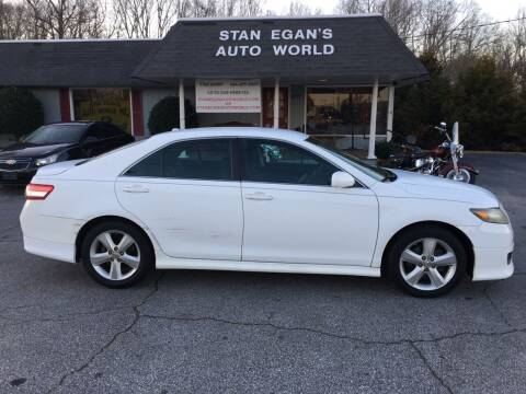 2010 Toyota Camry for sale at STAN EGAN'S AUTO WORLD, INC. in Greer SC