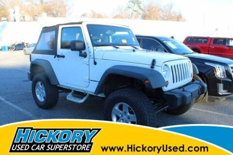 2012 Jeep Wrangler for sale at Hickory Used Car Superstore in Hickory NC