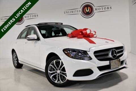 2016 Mercedes-Benz C-Class for sale at Unlimited Motors in Fishers IN