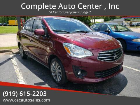 2019 Mitsubishi Mirage G4 for sale at Complete Auto Center , Inc in Raleigh NC