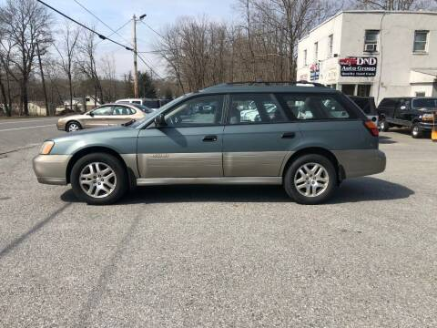 2001 Subaru Outback for sale at DND AUTO GROUP in Belvidere NJ