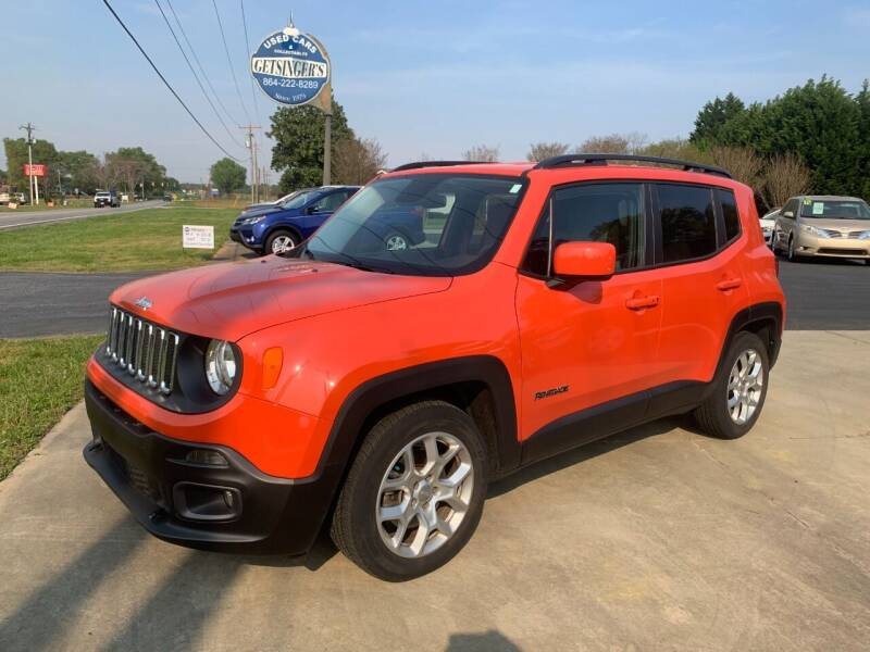 2015 Jeep Renegade for sale at Getsinger's Used Cars in Anderson SC