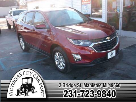 2021 Chevrolet Equinox for sale at Victorian City Car Port INC in Manistee MI