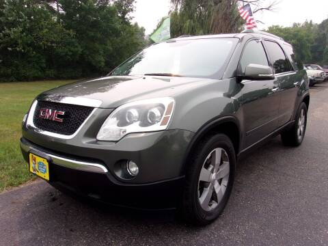 2011 GMC Acadia for sale at American Auto Sales in Forest Lake MN