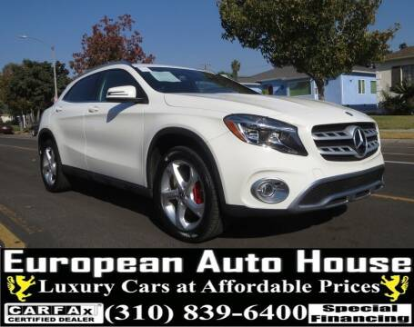 2018 Mercedes-Benz GLA for sale at European Auto House in Los Angeles CA