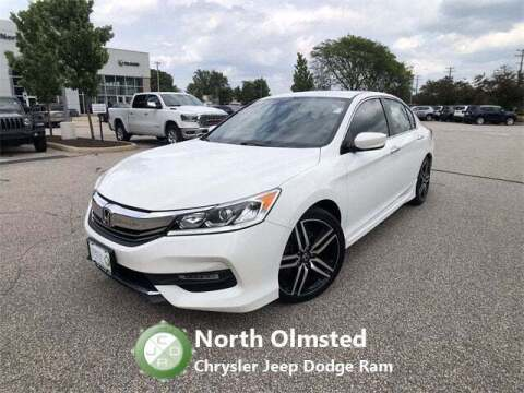 2017 Honda Accord for sale at North Olmsted Chrysler Jeep Dodge Ram in North Olmsted OH