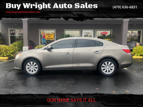 2011 Buick LaCrosse for sale at Buy Wright Auto Sales in Rogers AR