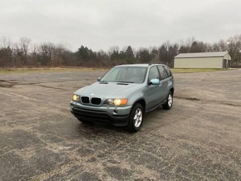 2002 BMW X5 for sale at Caruzin Motors in Flint MI
