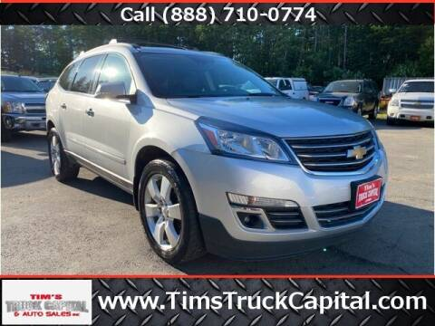 2015 Chevrolet Traverse for sale at TTC AUTO OUTLET/TIM'S TRUCK CAPITAL & AUTO SALES INC ANNEX in Epsom NH