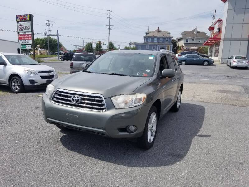 2008 Toyota Highlander for sale at 25TH STREET AUTO SALES in Easton PA