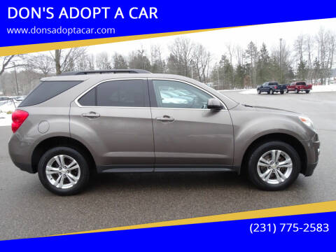 2012 Chevrolet Equinox for sale at DON'S ADOPT A CAR in Cadillac MI