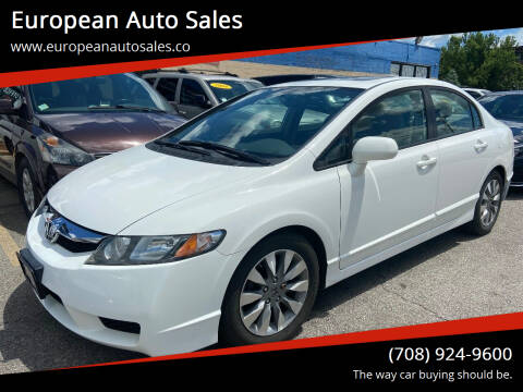 2011 Honda Civic for sale at European Auto Sales in Bridgeview IL