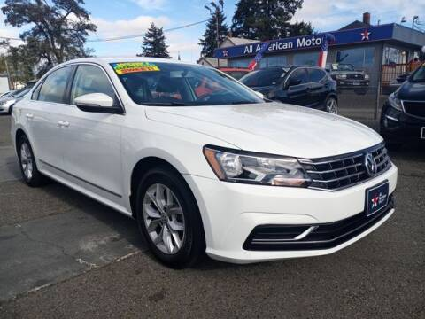 2016 Volkswagen Passat for sale at All American Motors in Tacoma WA