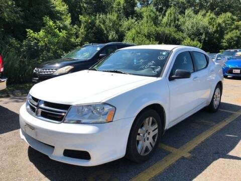 2013 Dodge Avenger for sale at Plymouthe Motors in Leominster MA