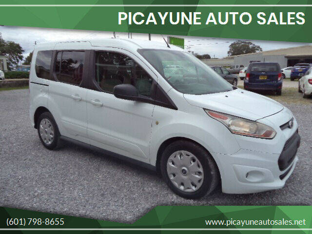 2014 Ford Transit Connect Wagon for sale at PICAYUNE AUTO SALES in Picayune MS