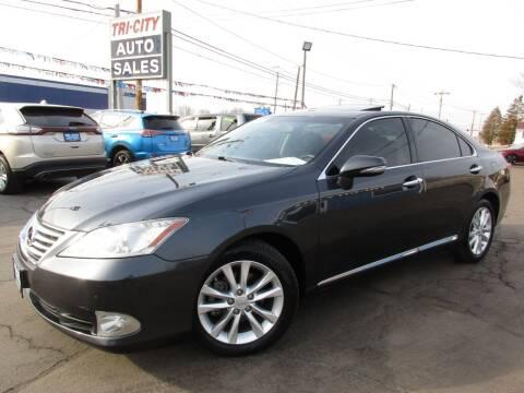 2011 Lexus ES 350 for sale at TRI CITY AUTO SALES LLC in Menasha WI
