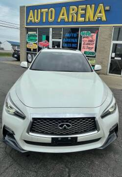 2018 Infiniti Q50 for sale at Auto Arena in Fairfield OH