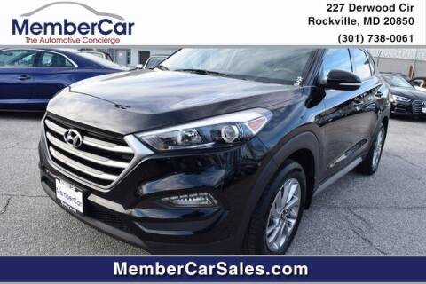 2018 Hyundai Tucson for sale at MemberCar in Rockville MD
