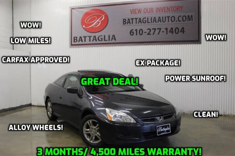 2006 Honda Accord for sale at Battaglia Auto Sales in Plymouth Meeting PA