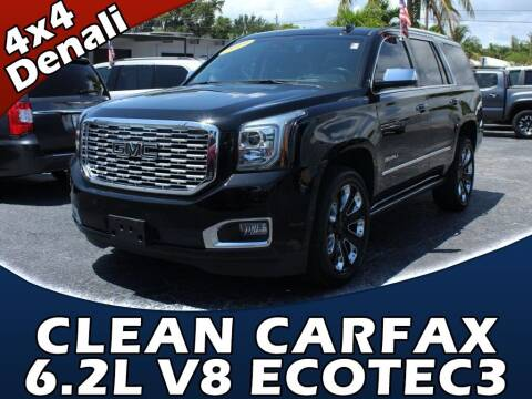 2019 GMC Yukon for sale at Palm Beach Auto Wholesale in Lake Park FL