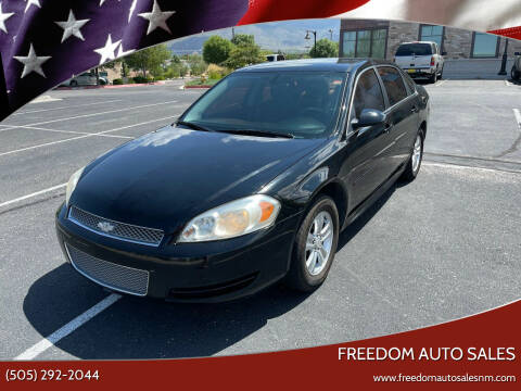 2013 Chevrolet Impala for sale at Freedom Auto Sales in Albuquerque NM