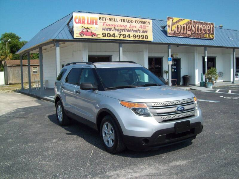 2014 Ford Explorer for sale at LONGSTREET AUTO in St Augustine FL