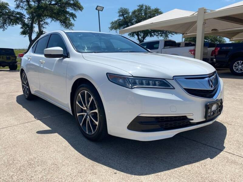2015 Acura TLX for sale at Thornhill Motor Company in Hudson Oaks, TX