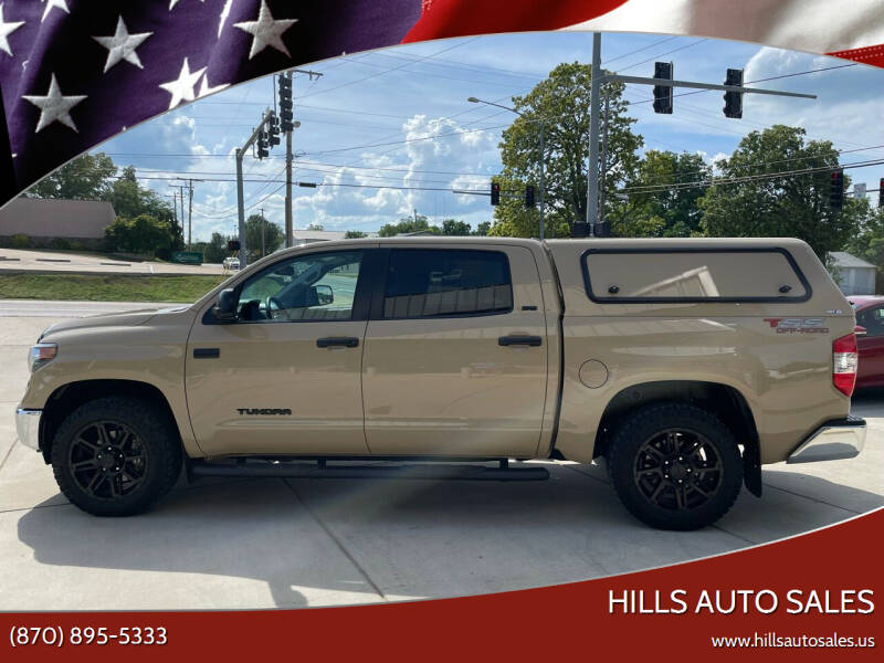2019 Toyota Tundra for sale at Hills Auto Sales in Salem AR