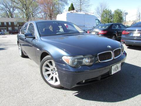 2002 BMW 7 Series for sale at K & S Motors Corp in Linden NJ