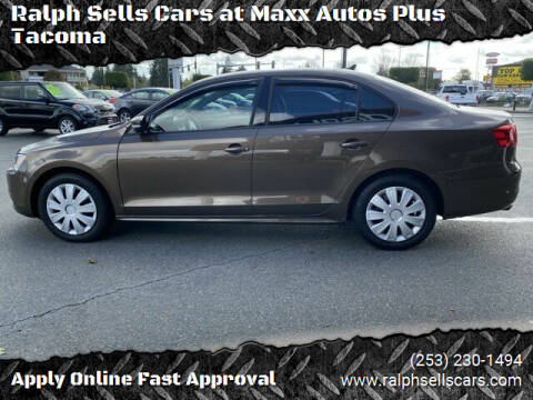 2014 Volkswagen Jetta for sale at Ralph Sells Cars at Maxx Autos Plus Tacoma in Tacoma WA