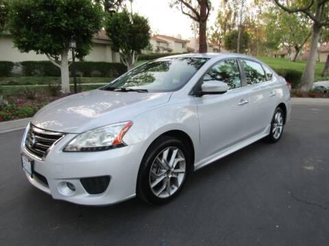 2013 Nissan Sentra for sale at E MOTORCARS in Fullerton CA