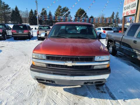 2000 Chevrolet Silverado 1500 for sale at Rum River Auto Sales in Cambridge MN
