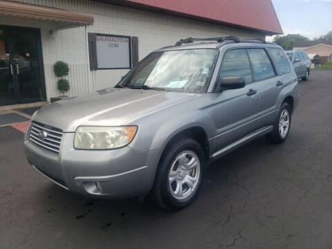 2007 Subaru Forester for sale at Salem Auto Sales in Salem VA