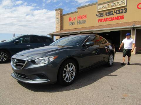 2015 Mazda MAZDA6 for sale at Import Motors in Bethany OK