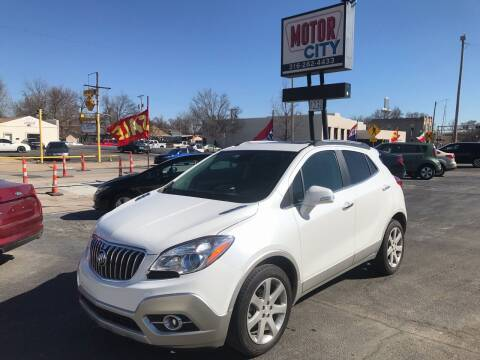 2015 Buick Encore for sale at Motor City Sales in Wichita KS