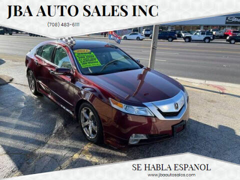 2011 Acura TL for sale at JBA Auto Sales Inc in Stone Park IL