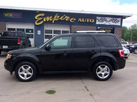 2011 Ford Escape for sale at Empire Auto Sales in Sioux Falls SD