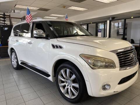2011 Infiniti QX56 for sale at Auto Max in Hollywood FL