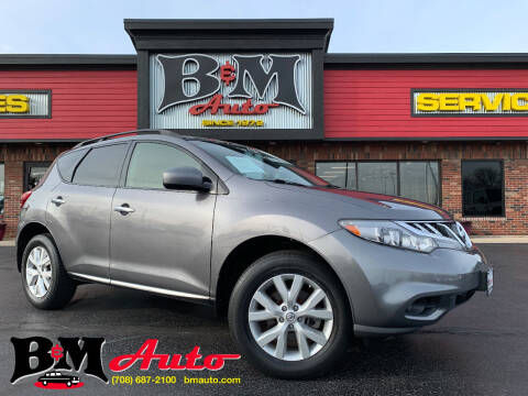 2013 Nissan Murano for sale at B & M Auto Sales Inc. in Oak Forest IL