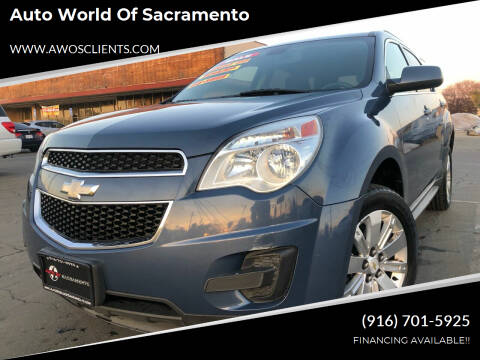2011 Chevrolet Equinox for sale at Auto World of Sacramento Stockton Blvd in Sacramento CA